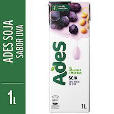 Bebida De Soja  Ades Uva 1lt