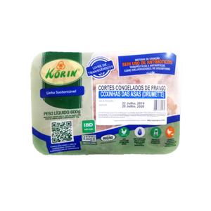 Coxinha da asa sustentável 600g - Korin