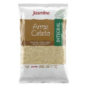 Arroz Cateto Tipo 1 Integral Jasmine Pacote 1kg