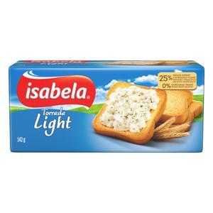 Torrada Light Isabela Pacote 142g