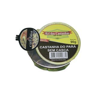 Castanha do Pará Sem Casca REI DAS CASTANHAS 90G.