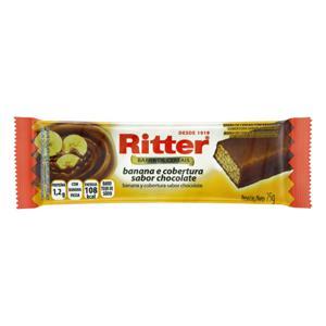Barra de Cereal Banana com Cobertura Chocolate Ritter Pacote 25g