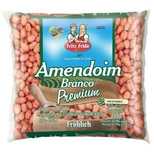 Amendoim Fritz Frid Branco 400G