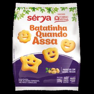 Batata Bqa Kids Forno Minas 1,05Kg