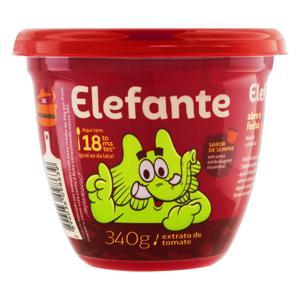 Extrato de Tomate Elefante Pote 340g