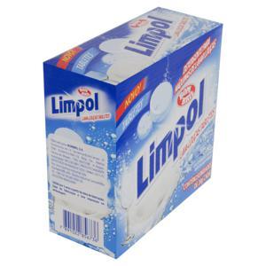 Detergente Tablete para Máquina de Lavar Louças Limpol 500g Caixa 25 Unidades