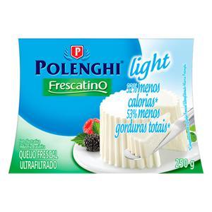 Queijo Frescal Ultrafiltrado Light Polenghi Frescatino 250g