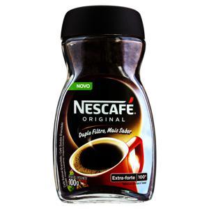 Café Solúvel Granulado Extraforte Nescafé Original Vidro 100g