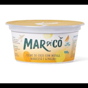 Creme de Coco Manga, Maracujá e Gengibre 135g - Mardicô