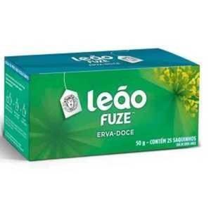 Chá Fuze LEÃO Erva Doce 50g