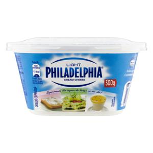 Queijo Cream Cheese Light Philadelphia Pote 300g