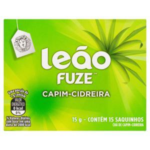 Chá Capim-Cidreira Leão Fuze Caixa 15g 15 Unidades