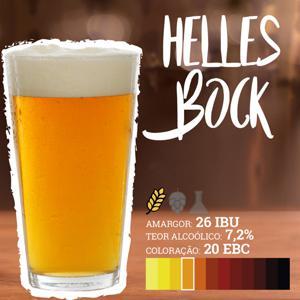 Receita Helles Bock