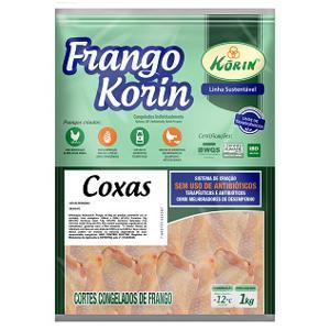Coxa sem Transgênico IQF Congelado KORIN 1Kg