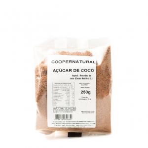 Açúcar de coco 250g - Coopernatural