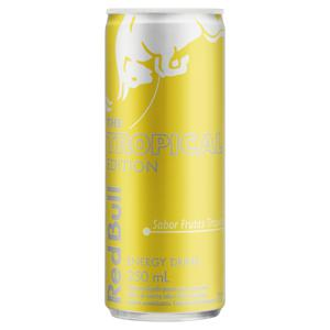 Energético Frutas Tropicais Red Bull Lata 250ml