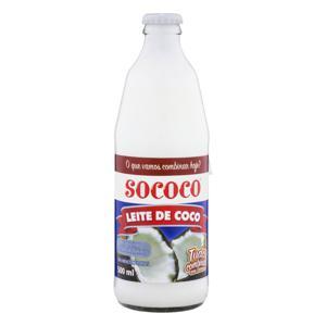 Leite de Coco RTC Sococo Vidro 500ml