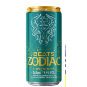 Cerveja Skol 269ml Beats Zodiac Elemento Terra