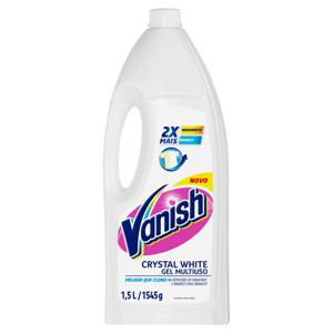 Alvejante Branqueador sem Cloro Vanish White Frasco 1,5l