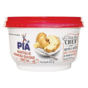 Manteiga PIÁ com Sal Pote 200g