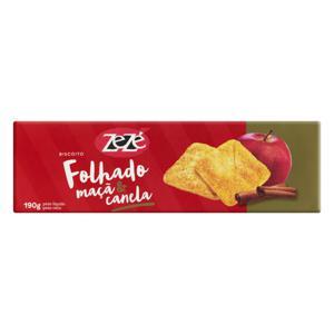 Biscoito Folhado Maçã & Canela Zezé Caixa 190g