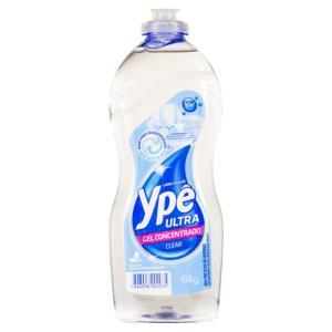 Detergente Ultra Gel Concentrado Clear Ypê Frasco 416g