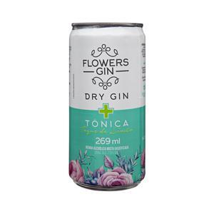 Gin Tônica Flowers com Limão Lata 269ml