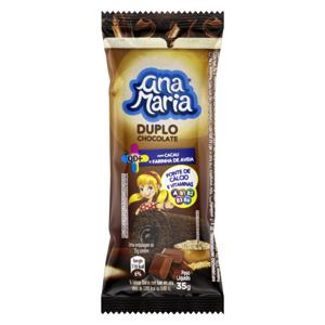 Bolo Duplo Chocolate Ana Maria QD+ Pacote 35g