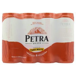 Pack Cerveja American Lager Puro Malte Petra Origem Lata 12 Unidades 350ml Cada