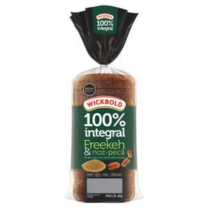 Pão Integral Freekeh e Noz-Pecã Wickbold Pacote 400g