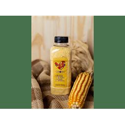 Fuba de Milho Amarelo Crioulo Orgânico 350g - Vista Alegre