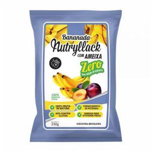 Bananada Nutryllack Zero Açúcar Com Ameixa 230G
