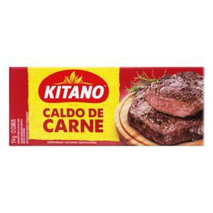 Caldo em Tablete Carne Kitano Caixa 114g 12 Unidades