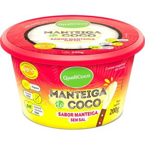 Manteiga de Coco S/ Sal 200 g