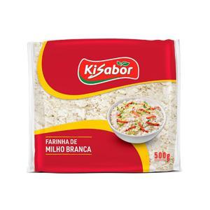 Farinha de Milho Branca Kisabor 500g