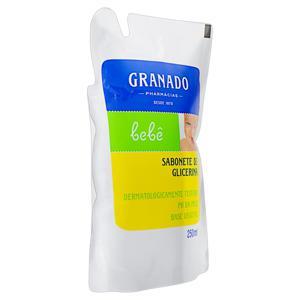 Sabonete Líquido de Glicerina Tradicional Granado Bebê Sachê 250ml Refil