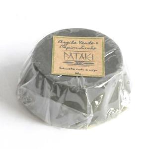 Sabonete argila verde e capim limão - Pataki