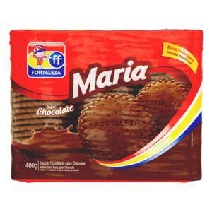 Biscoito Maria Chocolate Fortaleza Pacote 400g