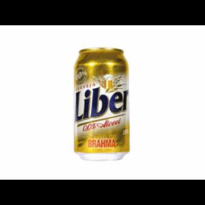 Cerveja Liber S/Alcool 350Ml Lata