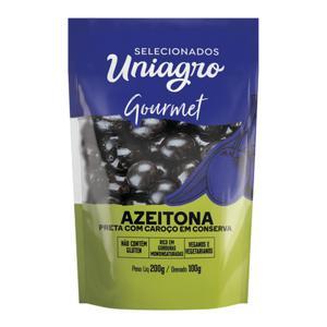 Azeitona Preta Uniagro 200G C/Caroco