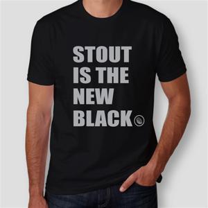 Camiseta Stout Is The New Black