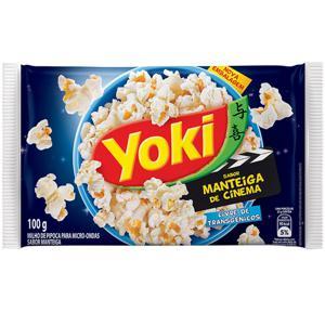 Pipoca Yoki Micro 100G Manteiga Cinema