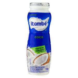 Iogurte Parcialmente Desnatado Coco Itambé Frasco 170g