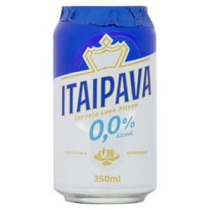 Cerveja Pilsen Zero Álcool Itaipava Lata 350ml