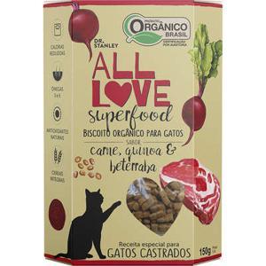 Biscoito Orgânico Superfood Para Gatos | Carne, Quinoa & Beterraba 150g - Dr. Stanley