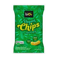 Chips Vegano Ervas Orgânico 40g - biO2