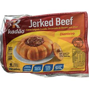 Charque Jerked Beef KADÃO Dianteiro 500g