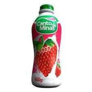 Iogurte CANTO DE MINAS Morango 900g