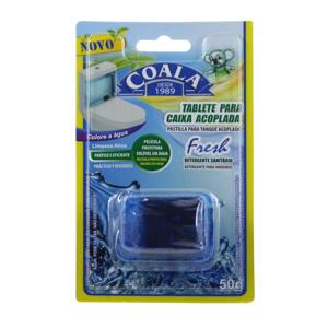 Detergente Sanitário Coala 50G Bloco Caixa Acoplada Fresh