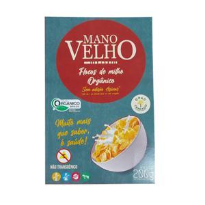 Cereal Matinal de Flocos de Milho Orgânico S/ açúcar (200g)